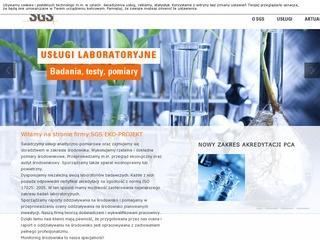 SGS EKO-PROJEKT - badania środowiska pracy