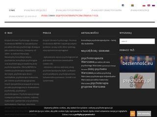 Poradnia psychologiczna w Warszawie czynna w weekendy