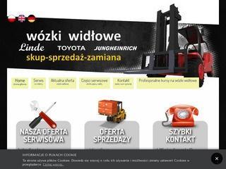 Widlaki-roszak.pl - wózki widłowe elektryczne